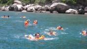 Một ngày tham quan, bơi lội ngắm san hô tại cù lao chàm bắng tàu gỗ